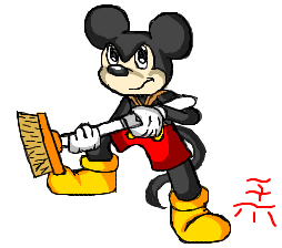 Don't Make The King Angry (Mickey Mouse) by TeenPioxys101