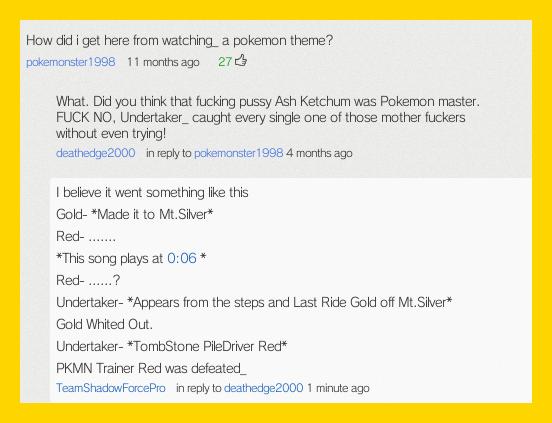 Best Youtube Convo- WWE Undertaker Invades Pokemon by TeenPioxys101