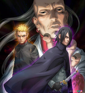 Jigen Naruto Sasuke