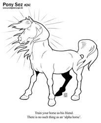 Pony Sez #24