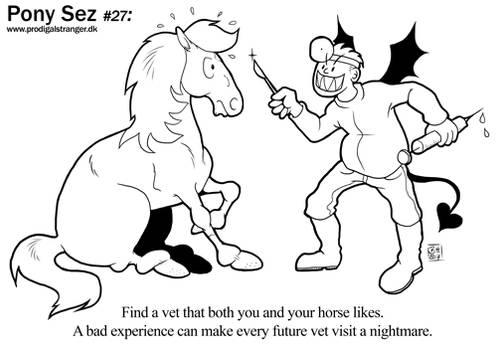 Pony Sez #27