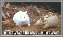 Evil Bunny Stamp by Chrissiannie