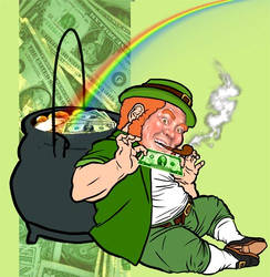 This is a Leprechaun by theRedRage