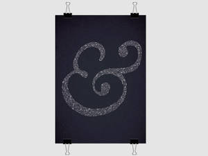 Ampersand Poster - Finished