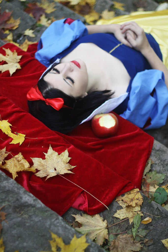 Sleeping Snow White by Verrett