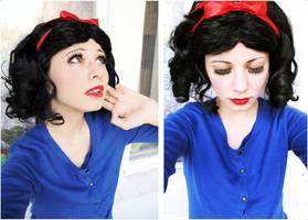 Casual Snow White. by Verrett