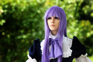 Purple witch. by Verrett