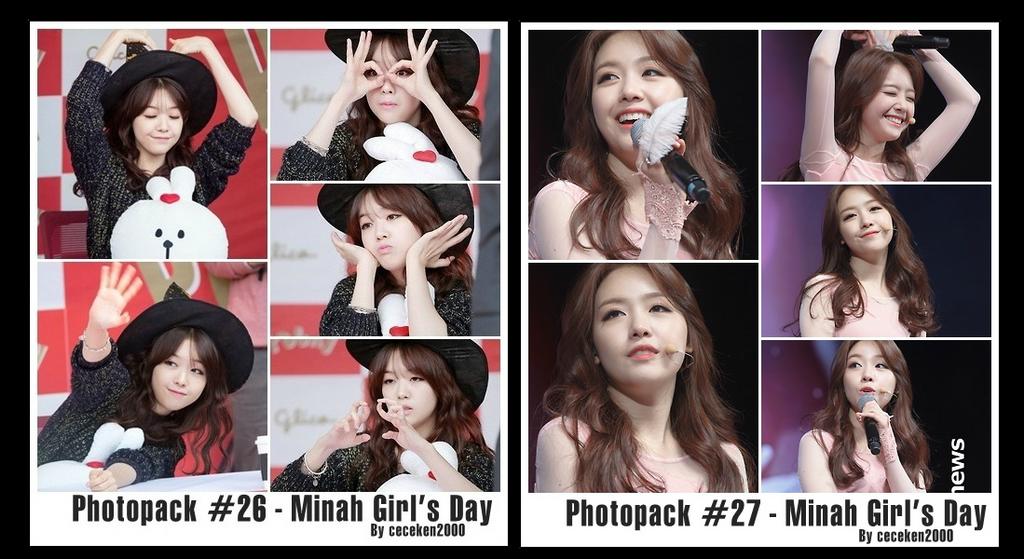 Photopack #26 #27: Minah by CeCeKen2000