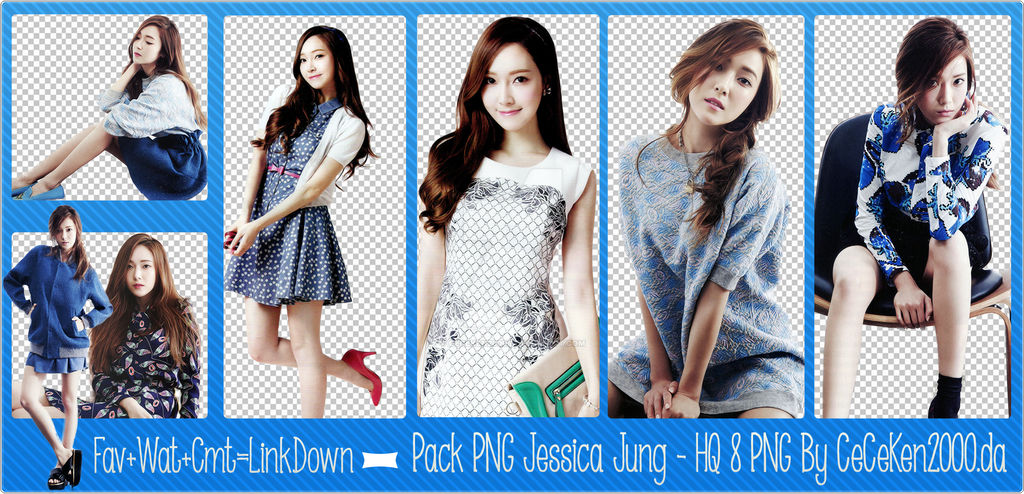 PACK PNG #28: Jessica (SNSD)
