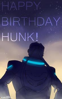 Happy Birthday Hunk!
