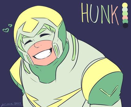 Voltron Hunk