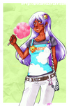 Cotton Candy Choko