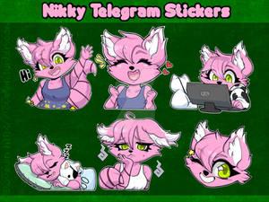 Nikky Telegram Sticker Pack