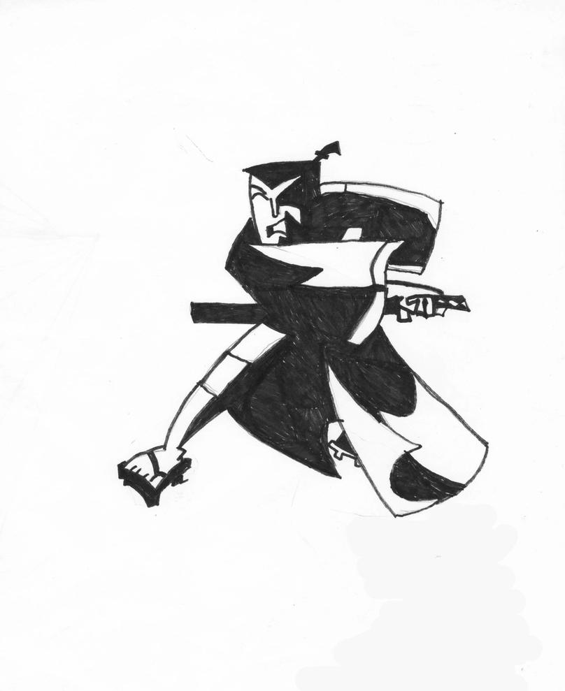 Samurai Jack by EdisonRodgers
