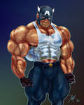 Buff Captain America