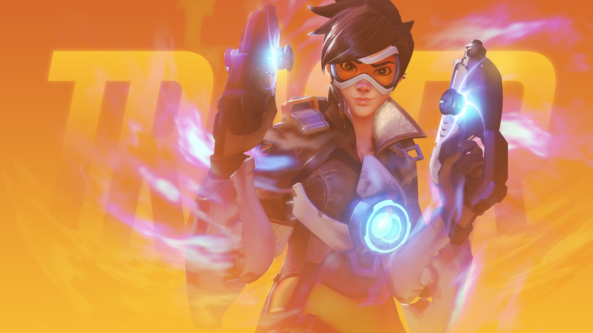 overwatch agent tracer wallpapers - photo #10