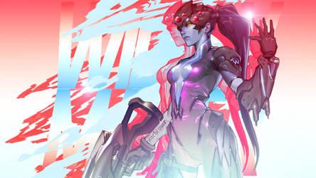 Overwatch - Widowmaker Wallpaper by MikoyaNx