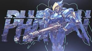 Overwatch - Pharah Wallpaper