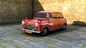 Mini Cooper made in Cinema 4D