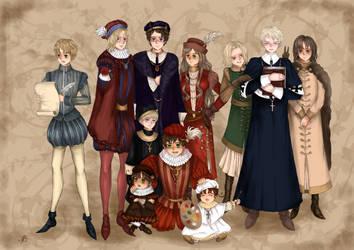 Ren Ren Renaissance by NikoleSchwartz
