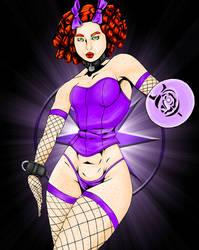 Violet Lantern Joclyne by roknese