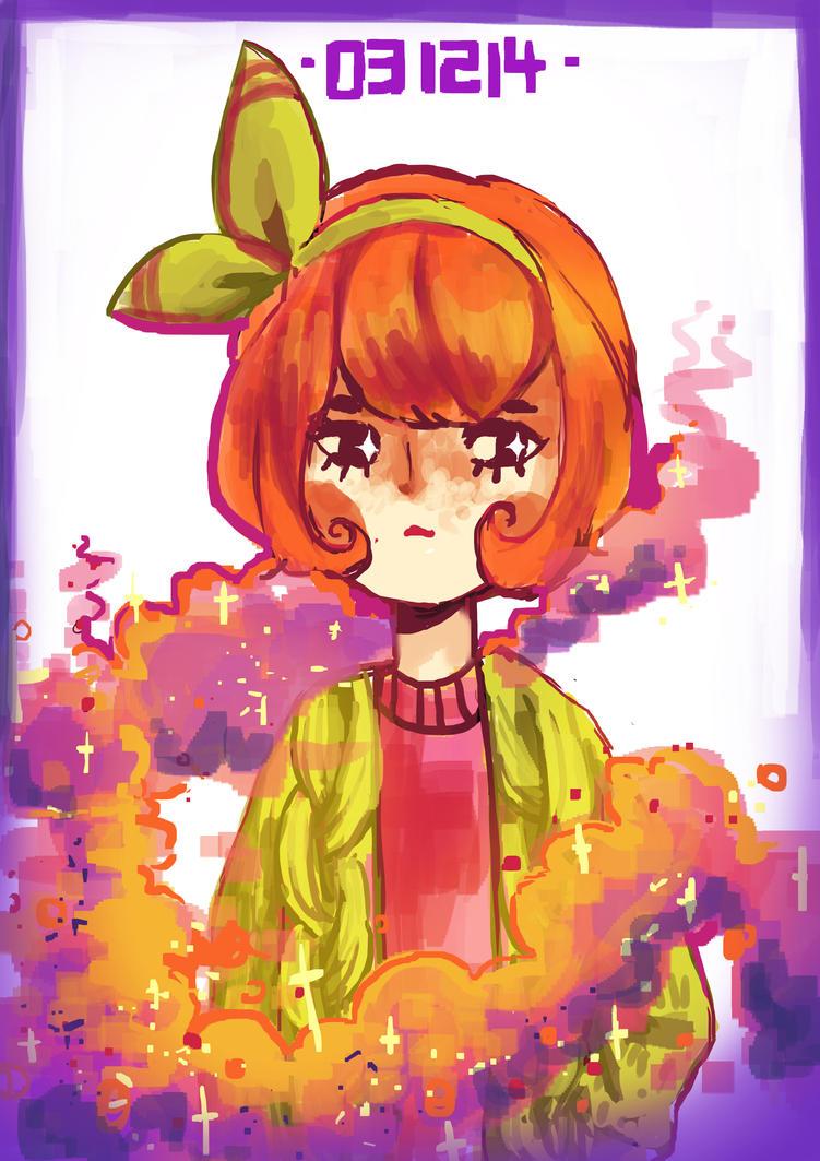 Purple Oranges by laushoo