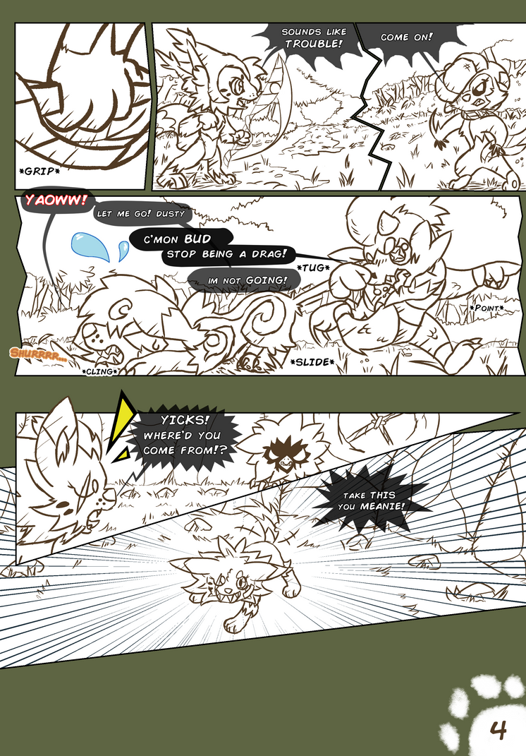 Vast of Chymeria comic book strip by Blizzate