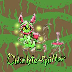 Chlorlyte-Spitter Chymeria Card |Alien-Class