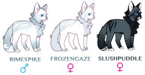 WCA: OPEN Sibling Adopts 3/3 by oisinful