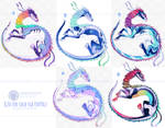 Sparkle Snakes Adopts|CLOSED| by SantanaHoffman17
