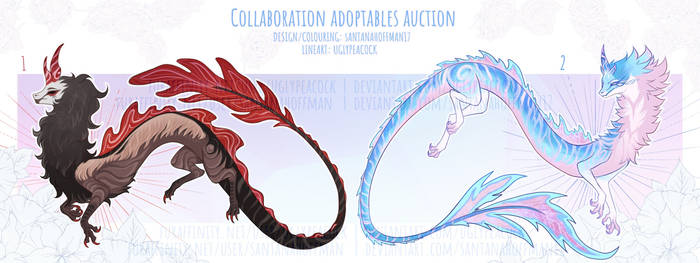 Collaboration Adoptables: Auction |OPEN| RATLD by SantanaHoffman17