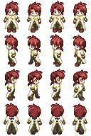 RPG Maker XP Charset - Luke fon Fabre by CerberusYuri