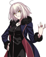 Fate/Grand Order Joan Alter Casual by CerberusYuri