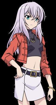 Misaki Tokura (V-Series) Casual Clothes Lineart