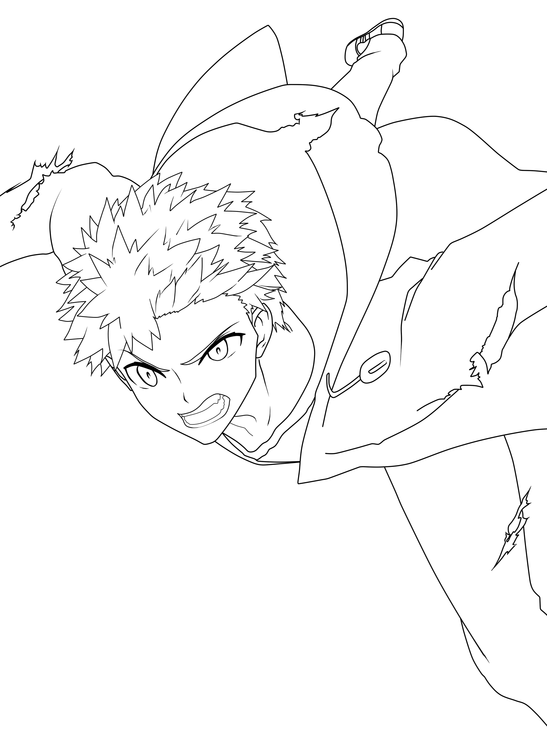 Shiro Emiya 2 Lineart