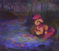 Pond fish by Madina55Rus