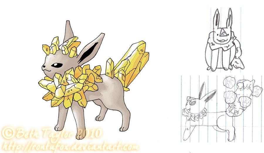 My Pokemon Series: Bouldereon by rontufox