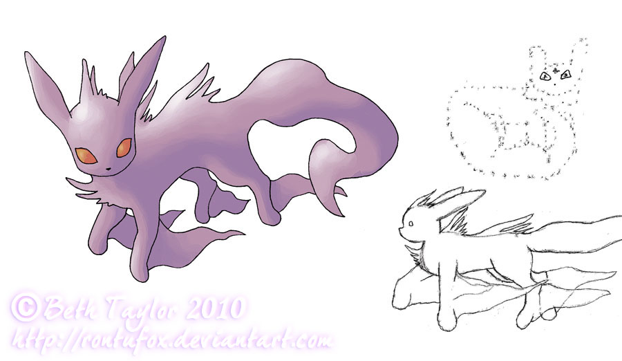 My Pokemon Series: Screameon by rontufox
