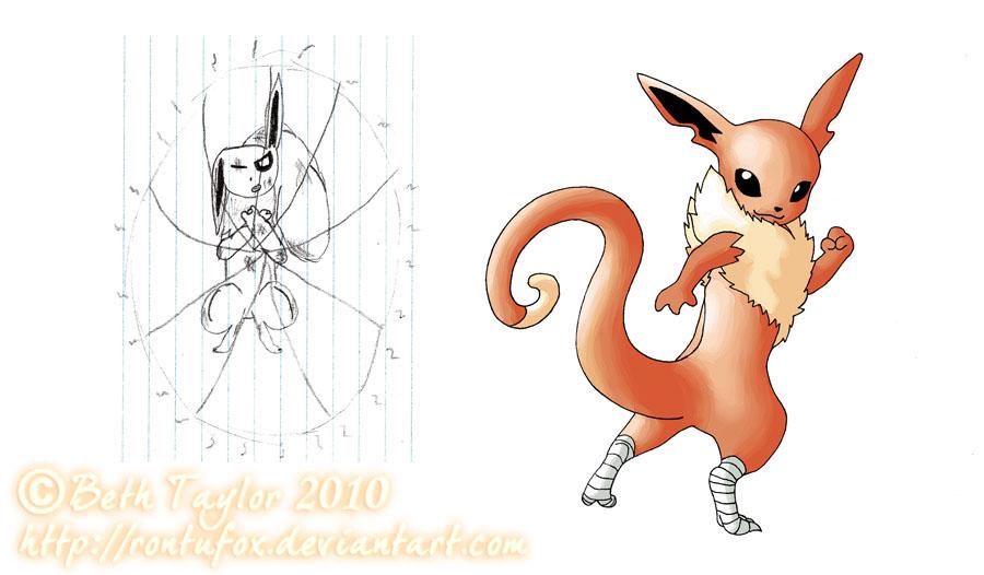 My Pokemon Series: Nadareon by rontufox
