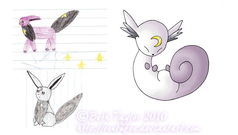 My Pokemon Series: Stormeon by rontufox