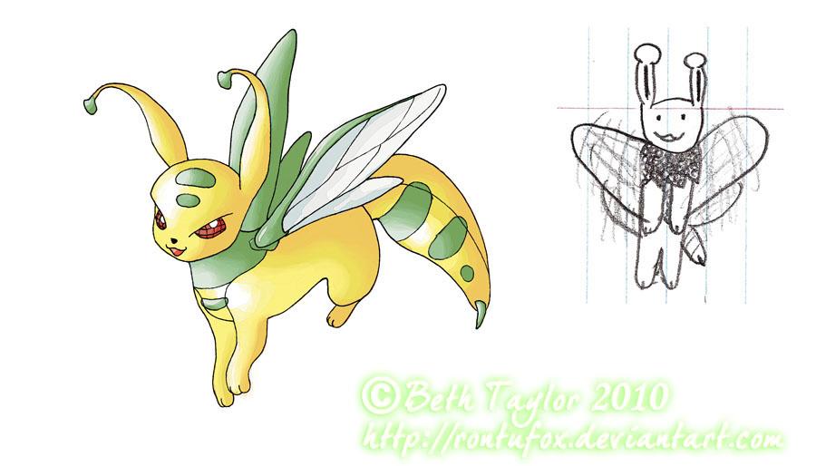 My Pokemon Series: Waspeon by rontufox