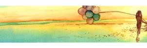 Balloon 3- Ocean Iridescence by rontufox