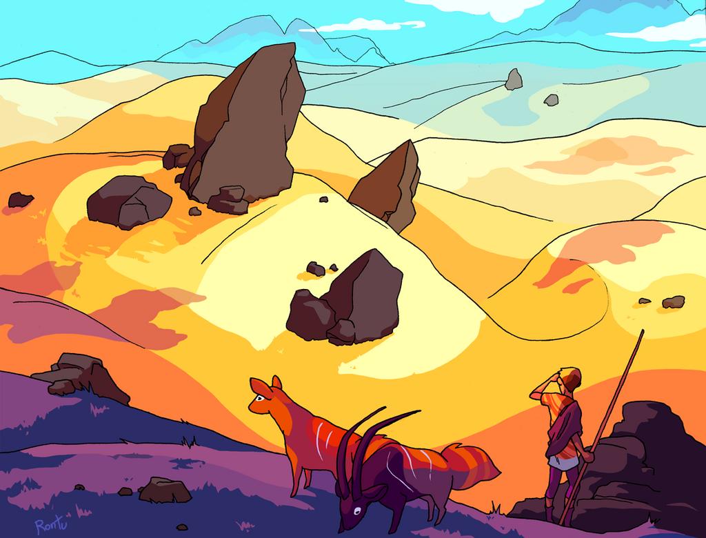 The dry season by rontufox