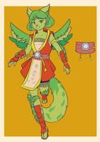 MYO- Gallinishee- Tama by MoebiousII