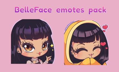 belle faces_emotes