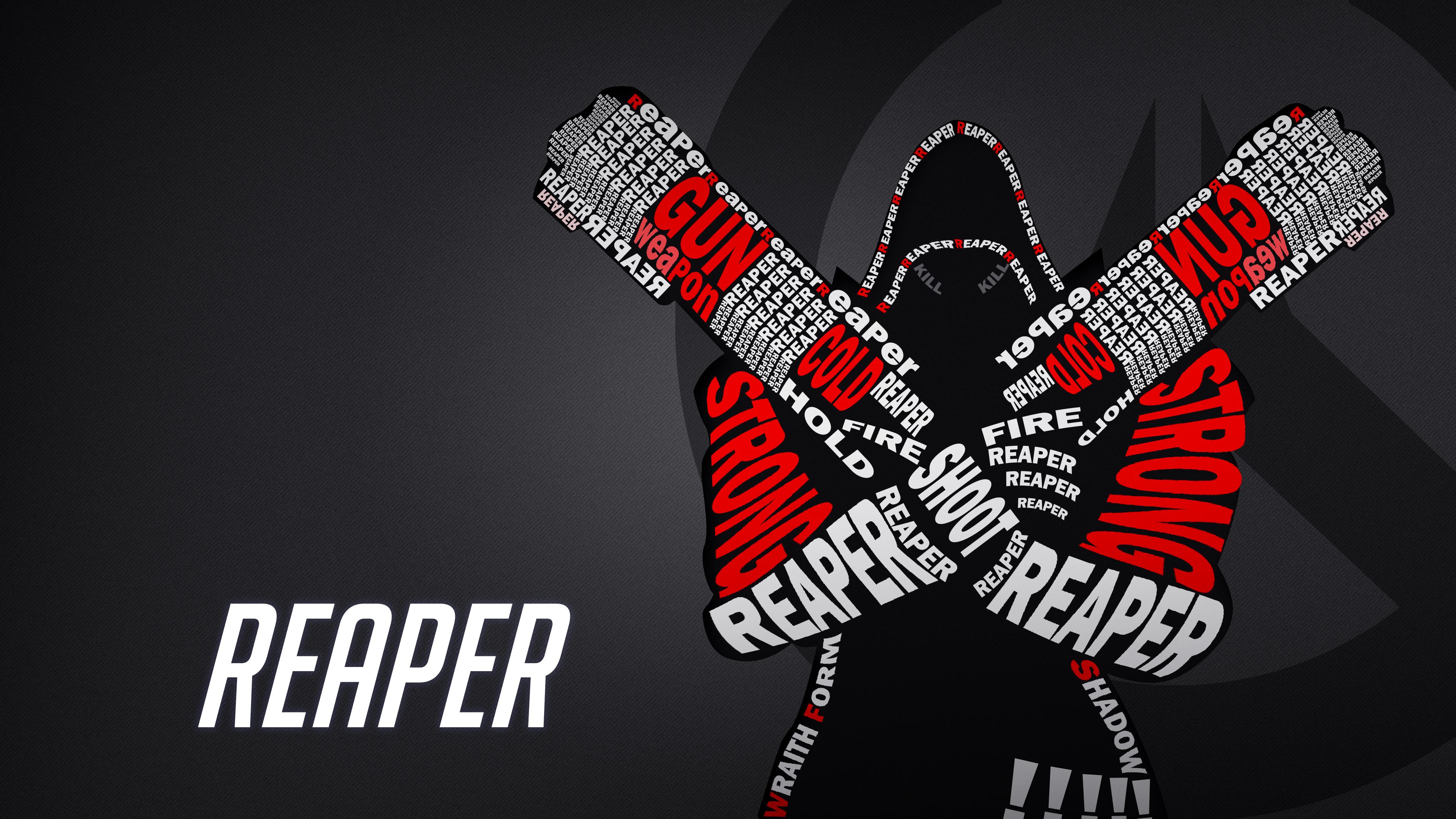 Overwatch Reaper Wallpaper By Atroxcze On Deviantart