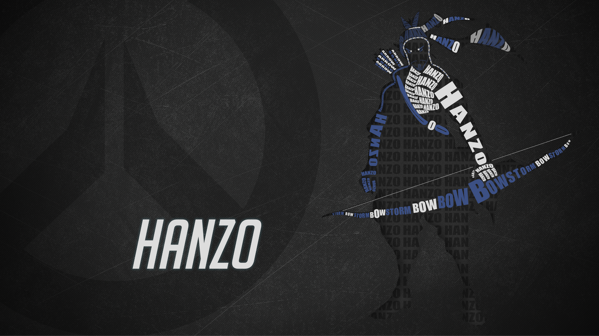 overwatch: hanzo wallpaperatroxcze on deviantart