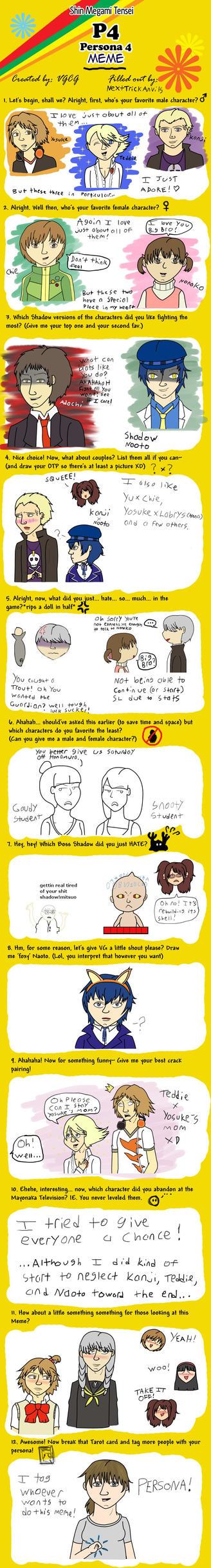 Persona 4 Meme BIG SPOILERS by NextTrickAnvils
