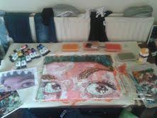 My working space by EmpurpleThePanda