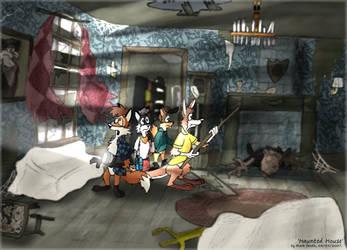 Haunted House by FreyFox